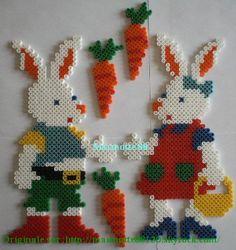 Lapin, Lapine et leurs carottes