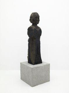 The Lecturer - Huma Bhabha; texture
