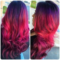 158 Best Pink And Purple Hair Images