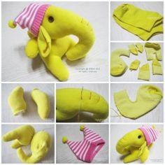 sock elephant F