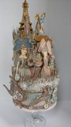 Altered Boxes, Altered Art, Arts And Crafts, Paper Crafts, Diy Crafts, Paper Dolls, Art Dolls, Madd Hatter, Tart Collections