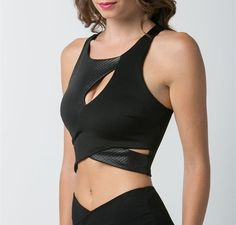 Every girls needs a fabulous fitting crop top in their wardrobe and the Back To Black Crop Top is it! Layer it with our Shredded Cropped Blazer to transition into the cooler weather.