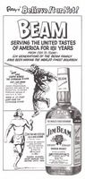 Jim Beam Bourbon Whiskey 1976 Ad Picture