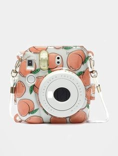Instax x Skinnydip Mini 8 & 9 Camera Peach Case - Polaroid (Instax Mini) Polaroid Instax Mini, Instax Mini Case, Polaroid Camera Case, Cute Camera, Instax Mini Film, Fujifilm Instax Mini 8, Leica Camera, Nikon Dslr, Film Camera