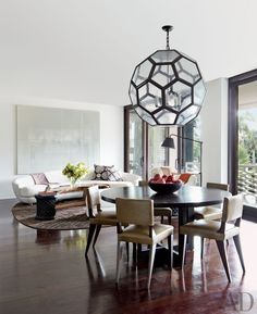Contemporary Dining Room by Tsao & McKown Architects and Tsao & McKown Architects in Palm Beach, Florida