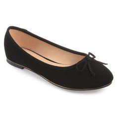 c7573da3095 Fingerhut - Journee Collection Women s Colin Flat Shoe - Wide Block Heels