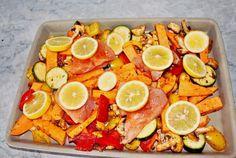 LowCarb Zitronenhähnchen - Rezept von Kerstins Kuechentraum Grapefruit, Food, Meal, Eten, Meals