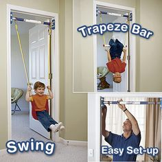 This was perfect for our son when he was younger.  It's terrific for kids with sensory issues, especially those for whom swinging is calming.  There are days I still wish we had it.