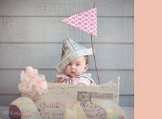 paper hat...luv!