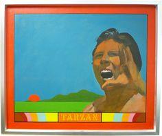 Peter Blake Painting at MYM   Daler Rowney