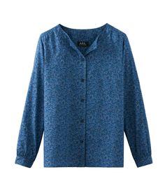 A.P.C. Women | Hortense shirt | usonline.apc.fr | free shipping