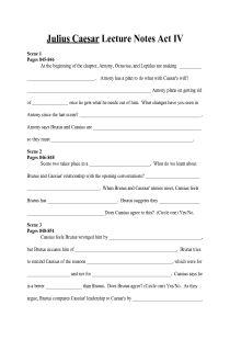 Printables Julius Caesar Worksheets julius caesar act iii lecture note fill in worksheet free iv document download for teachers
