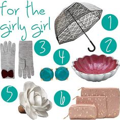 holiday gift guide for the girly girl #giftideas