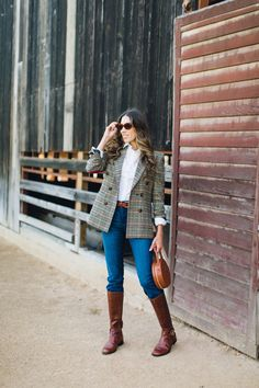 Plaid Blazers Every Gal Needs in Their Closet