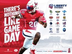 Liberty football 2017 on behance Baseball Playoffs, Sport Football, Football Helmets, Football Ads, Football Stuff, Alabama Football, Sports Graphic Design, Graphic Design Posters, Sport Design