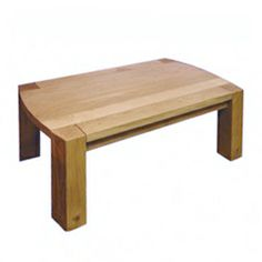Sopwell Oak Radius Coffee Table