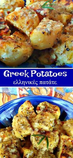 Easy Greek Potatoes Looking for Authentic Greek Potatoes, then look no further, you just found it! Vegetable Side Dishes, Vegetable Recipes, Potato Recipes, Chicken Recipes, Recipe Chicken, Curry Recipes, Greek Side Dishes, Greek Lemon Potatoes, Greek Style Potatoes