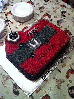 This will most likely be our sons first birthday cake as soon as I show this to his daddy.. hahah