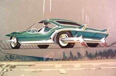 1955 GM Styling Artwork Photo Homer LaGassey Jr