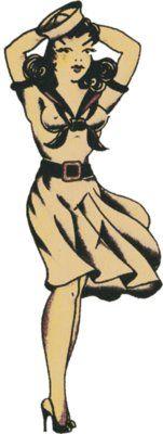 Sailor Girl, Sailor Jerry, T Shirt Design, Rockabilly, Psychobilly, Vulture Graffix, Tattoo Design http://vulturegraffix.onlineshirtstores.com/