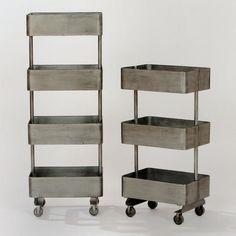 Jayden Metal Shelf Units $80