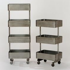 One of my favorite discoveries at WorldMarket.com: Jayden Metal Shelf Units