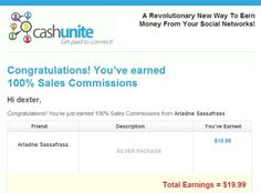 CASHUNITE 100% COMMISSIONS - SILVER DIGITAL PARTNER COMMISSION  read the review at http://www.cashunitesignup.com/cashunite-review
