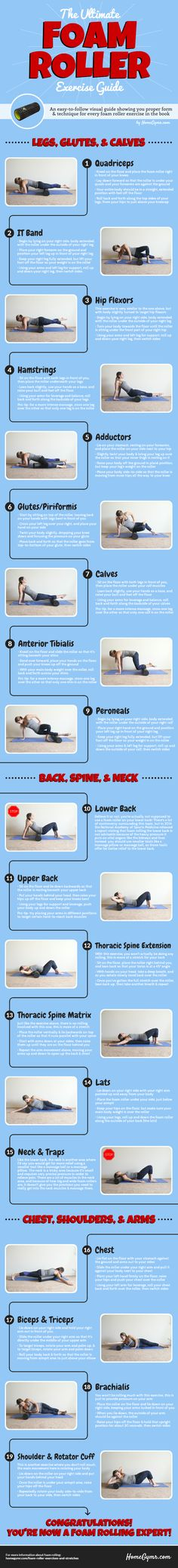 Foam Roller Exercise Guide