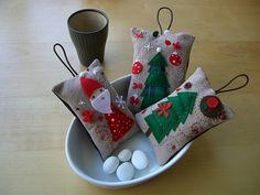 Handmade Christmas decorations