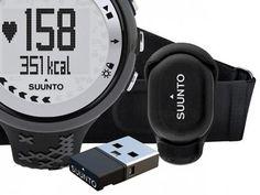 Relógio Monitor Cardíaco M5 Black Pack Suunto - Resistente à água Alarme Cronômetro Cronógrafo com as melhores condições você encontra no Magazine 1e2namao. Confira!