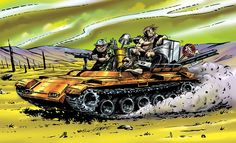 Gamma World Tank