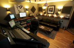 Have a recording studio in my home.