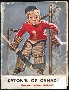 Eaton's of Canada catalogue cover, 1948-49