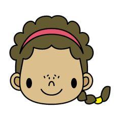 女の子10・外国の女の子・ブラウン