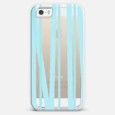 Hello Blue Sky Stripes iPhone 5s case by Lisa Argyropoulos | Casetify