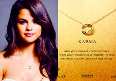 Dogeared Triple Karma Necklace, Gold Dipped-  Buy it HERE