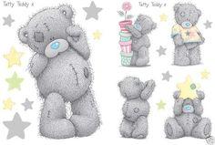tatty teddy glitter graphics | Tatty Teddy Backgrounds