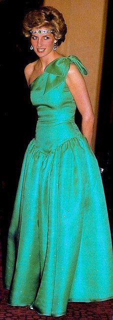 Princess Diana in Melbourne, Australia in October, 1985.