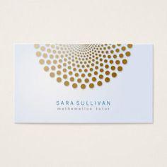Plain minimal chevron bookkeeper business card business cards math tutor business card circle dots motif colourmoves