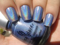 "My absolute FAVORITE color! It's called ""2nite"" and it's totally discontinued:,("