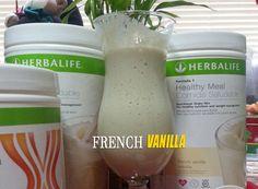 Herbalife Formula 1 Shake Meal Replacement French Vanilla