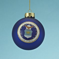 United States US Navy USN Bulb Silver Metal Christmas Ornament Gift Armed Forces