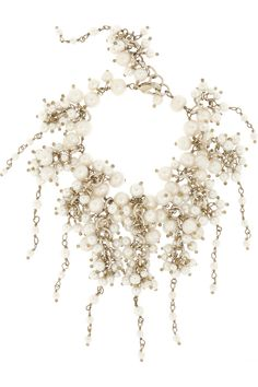 Lobster clasp fastening Comes in a tie-fastening pouch Freshwater pearls: rosantica by michela panera