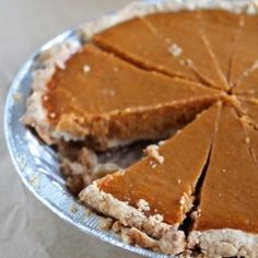 Sweet Potato Pie and No Roll Crust by studiocuisineblog