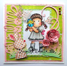 Magnolia Stamp Tilda Egg Easter Ostern Karte http://ellabella-kreativ.blogspot.de/2016/03/easteregg.html