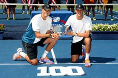 For their 100th team win, Bob Bryan and Mike Bryan are also the 2014 US Open Men's Doubles champions!