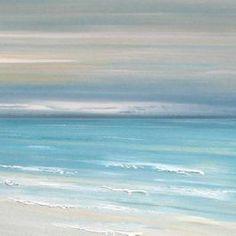 Beach Decor Artwork - Ocean Calm - tropical - artwork - montreal - Etsy / Francine Bradette $40