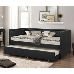 Youll Love The Baxton Studio Daybed With Trundle At Allmodern With