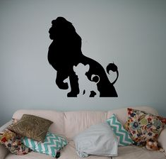 The Lion King Wall Decal Disney Classics Cartoons Vinyl Sticker Home Interior Removable Decor Children Kids Room 3(lk) * Learn more by visiting the image link-affiliate link. #NurseryDecor