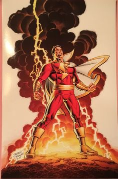 Jerry Ordway is an amazing artist! Captain Marvel Shazam, Shazam Comic, Shazam Dc Comics, Dc Comics Superheroes, Arte Dc Comics, Marvel Comics, Marvel Dc, Comic Book Characters, Captain Marvel